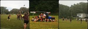 Lehrgang der 15er Nationalmannschaft im Kölner Rugby Park